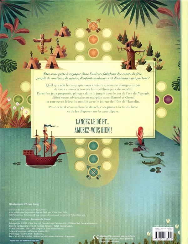 Le grand livre des jeux ; au pays des contes