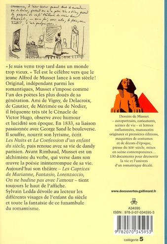 Alfred de Musset ; les fantaisies d'un enfant du siècle