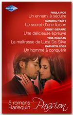 Vente EBooks : 5 romans Harlequin « Passion »  - Collectif - Paula Roe - Cindy Gerard - Kathryn Ross - Sandra Hyatt - Tina Duncan