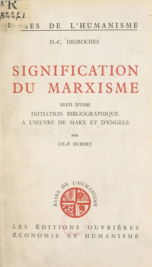 Signification du marxisme