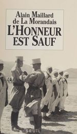 Vente EBooks : L'Honneur est sauf  - Alain MAILLARD DE LA MORANDAIS