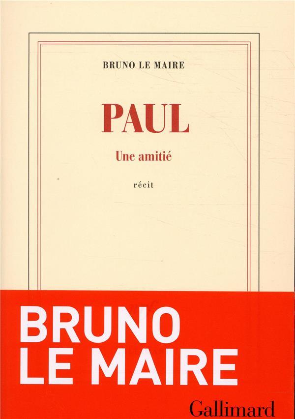 Paul ; une amitié