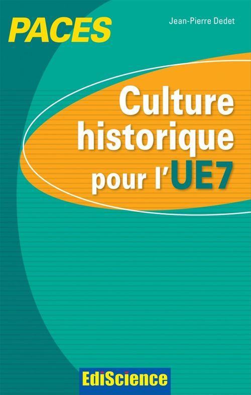 Culture historique pour l'UE7 ; PACES
