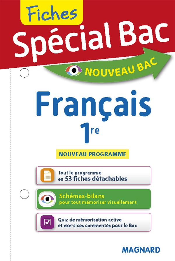 Special Bac Fiches Francais 1re Edition 2019 Sylvie Coly Magnard Grand Format Lamartine Paris