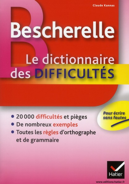 Dictionnaire des difficultés