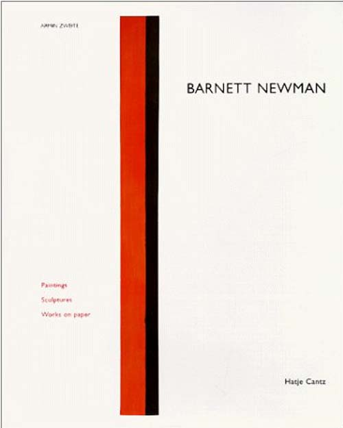 Barnett newman paintings - sculptures - works on paper
