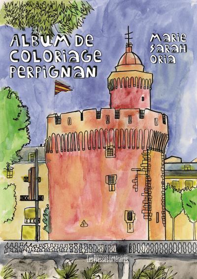 Album de coloriage Perpignan