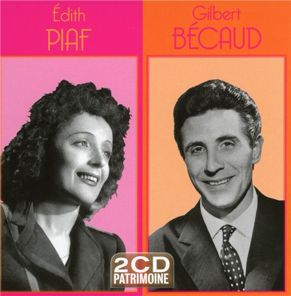 Edith Piaf/Gilbert bécaud : patrimoine