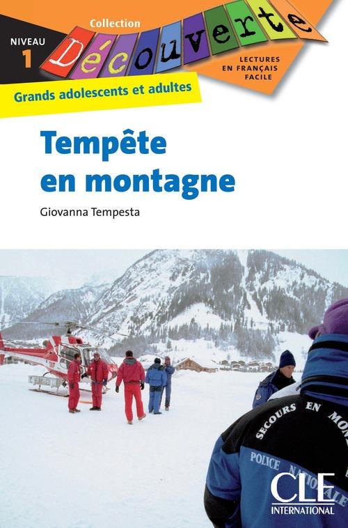 Tempête en montagne - Niveau 1 - Lecture Découverte - Ebook