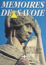 Mémoires de Savoie