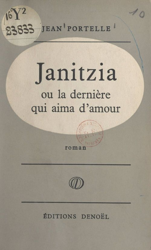 Janitzia ou La dernière qui aima d'amour