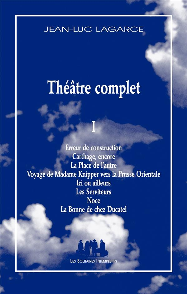 THEATRE COMPLET T.1