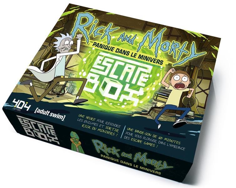 Escape box ; Rick and Morty ; panique dans le minivers