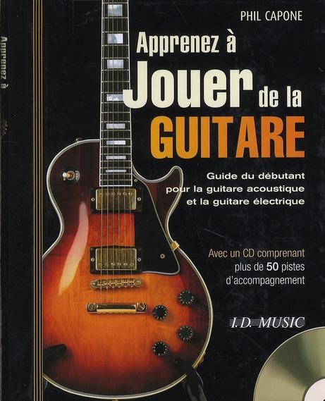 Apprenez à jouer de la guitare tab CD ; guitare