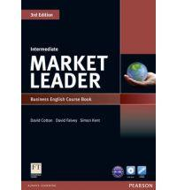 Market leader 3rd ed intermediate course book w/ dvd-rom