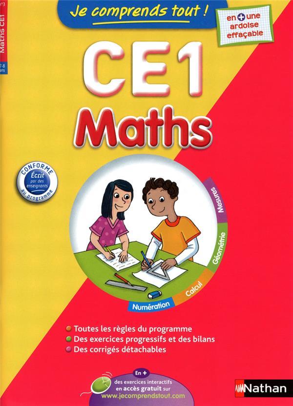 Je Comprends Tout!; Mathematiques ; Ce1 ; 7-8 Ans