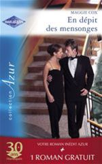 Vente Livre Numérique : En dépit des mensonges - Pour l'amour d'Emma (Harlequin Azur)  - Lucy Gordon - Maggie Cox
