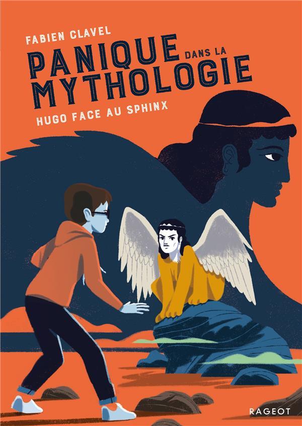 Panique dans la mythologie ; Hugo face au sphinx ; panique dans la mythologie ! t.5
