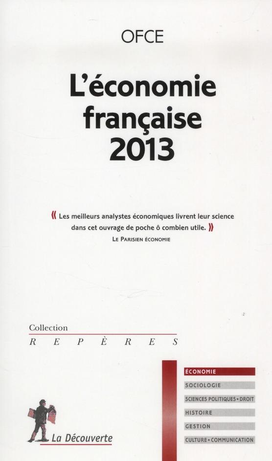 L'économie française (édition 2013)