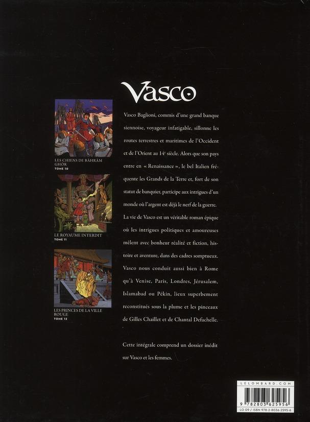 Vasco ; Intégrale vol.4 ; t.10 à t.12