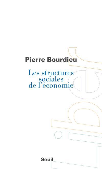 Les structures sociales de l'économie