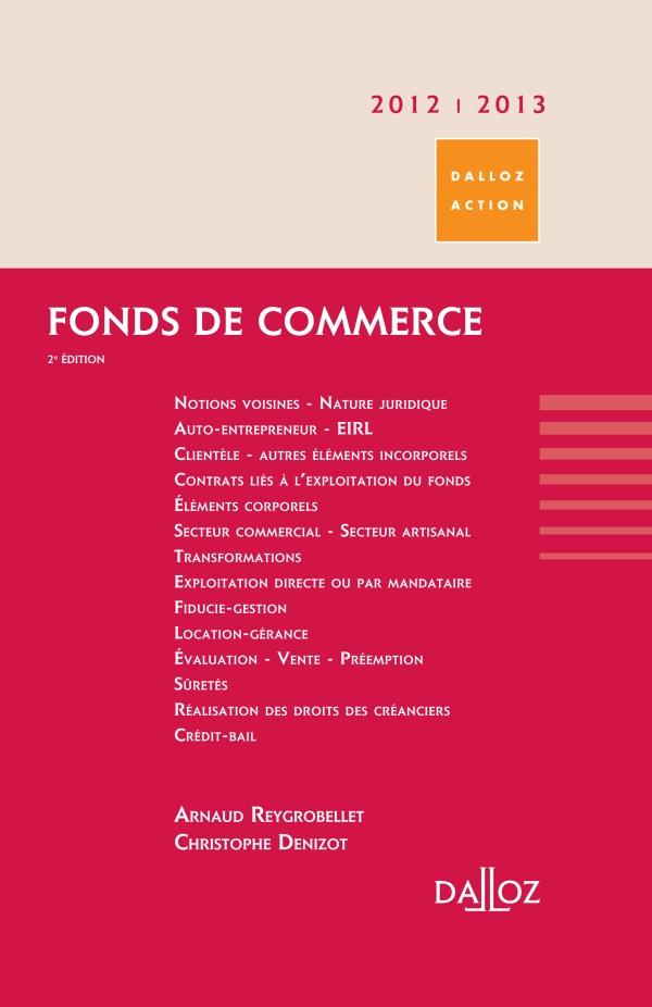 Fonds De Commerce (Edition 2012/2013)