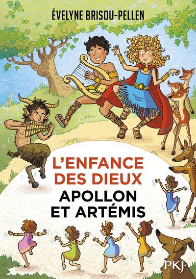 L'ENFANCE DES DIEUX T.3  -  APOLLON ET ARTEMIS