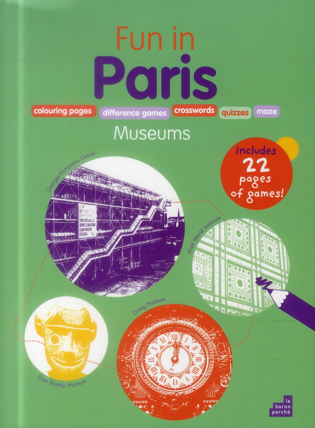 Fun in Paris ! ; museums