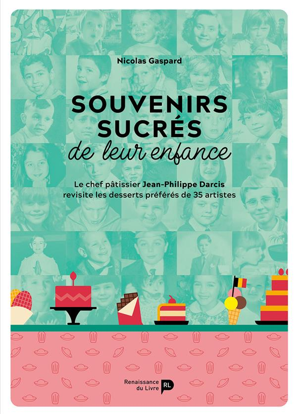 Souvenirs sucrés de leur enfance ; le chef pâtissier Jean-Philippe Darcis revisite les desserts préférés de 35 artistes