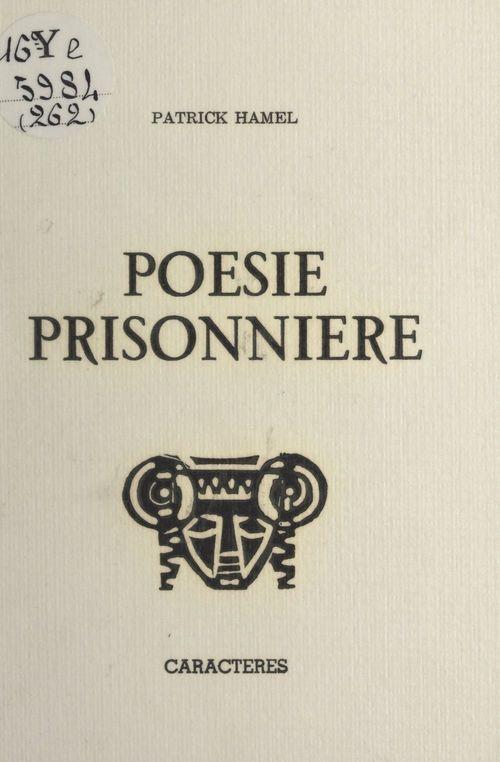 Poésie prisonnière