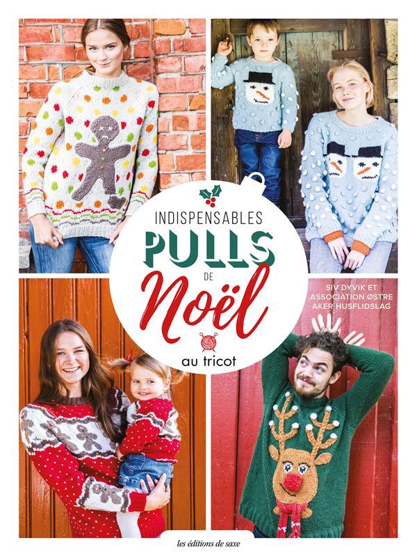 Indispensables pulls de Noël au tricot
