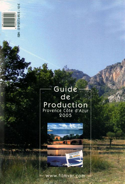 Guide de production 2005 ; provence cote d'azur
