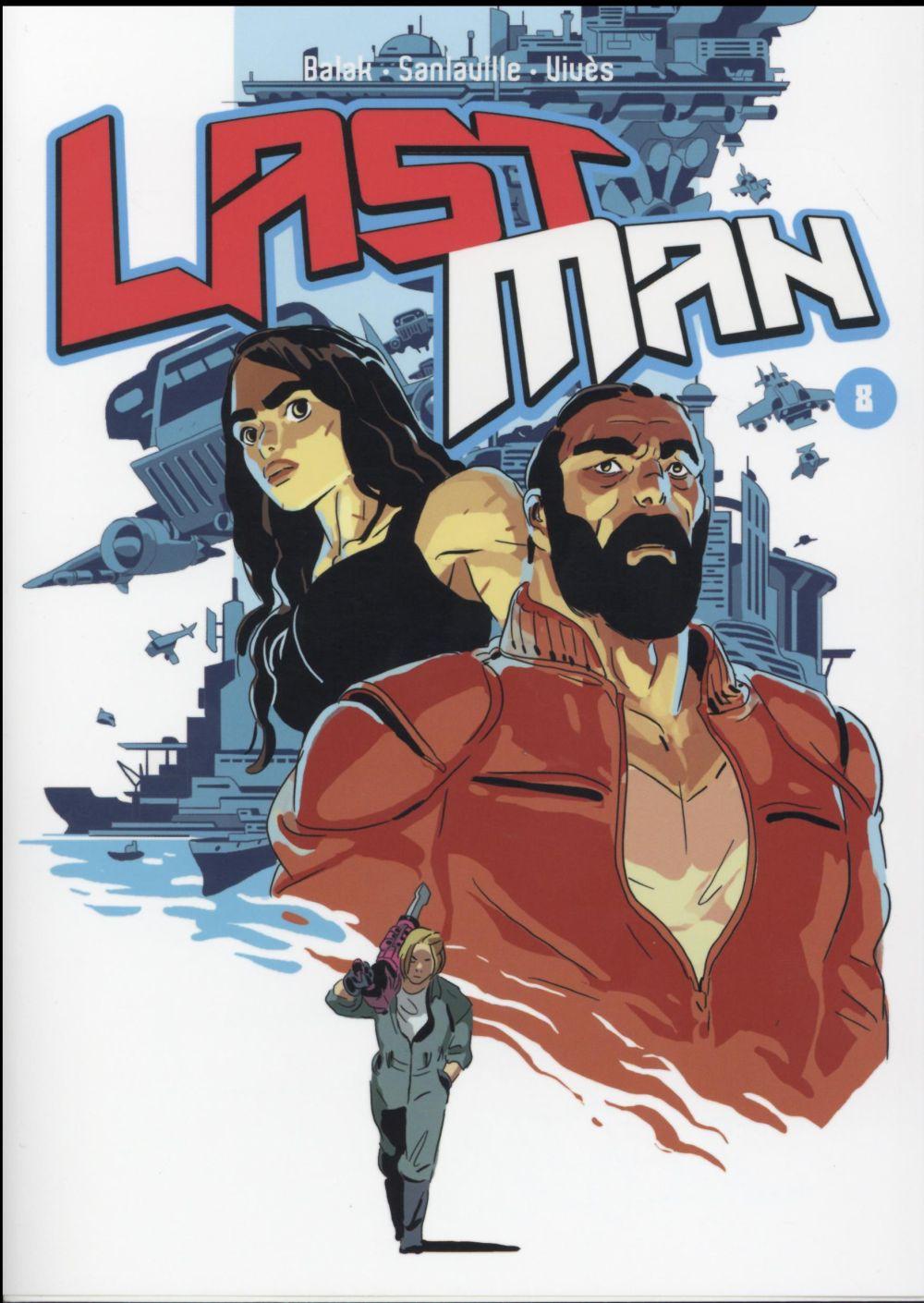 LASTMAN - T08 - LASTMAN BALAK/VIVES