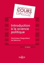 Vente Livre Numérique : Introduction à la science politique  - Dominique Chagnollaud