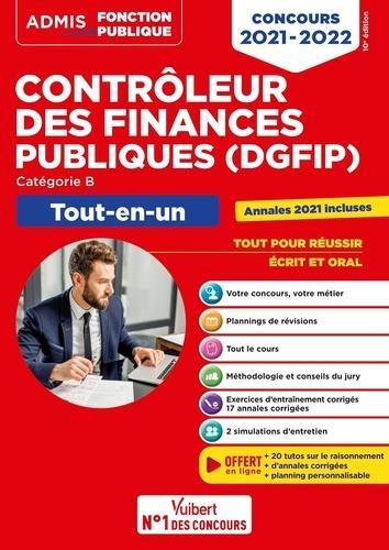 Concours contrôleur des finances publiques (DGFIP) - catégorie B - tout-en-un - concours (édition 2021/2022)
