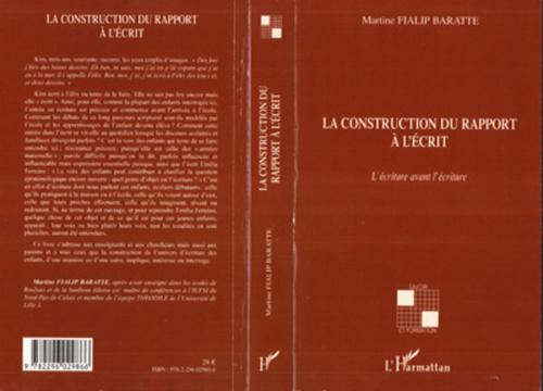 La construction du rapport à l'écrit