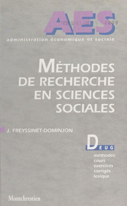 Meth.recher.sciences sociales