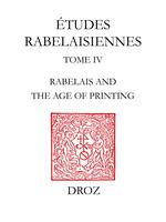 Rabelais and the Age of Printing