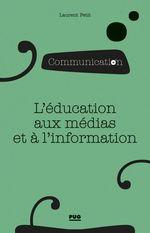 Vente Livre Numérique : L'éducation aux médias et à l'information
