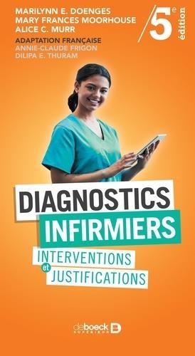 Diagnostics infirmiers ; interventions et justifications