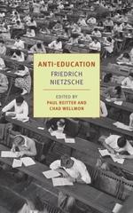 Vente Livre Numérique : Anti-Education  - Friedrich Nietzsche