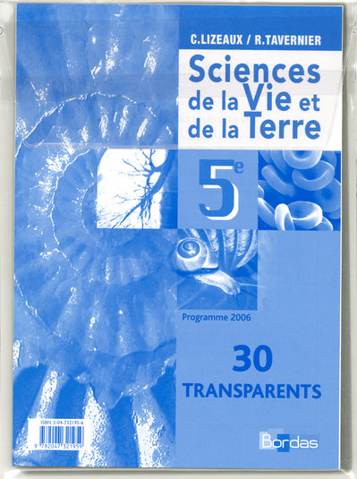 Transparents Svt 5e 2006