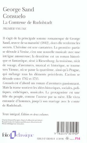 consuelo/comtesse de rudolstadt - vol01
