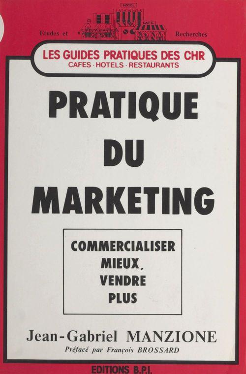 Pratique du marketing