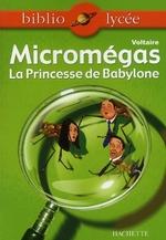Couverture de Bibliolycée - micromegas - princesse de babylone n° 48 - livre élève
