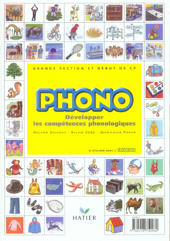 Grande Section Maternelle / Cp; Phono ; Developper Les Competences Phonologiques ; Maternelle ; Grande Section Et Debut De Cp ; Guide Du Maitre