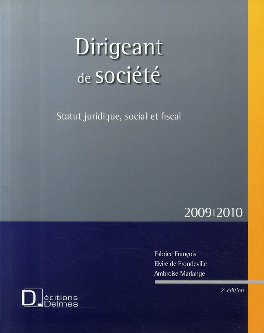 Dirigeant De Societe (2e Edition)