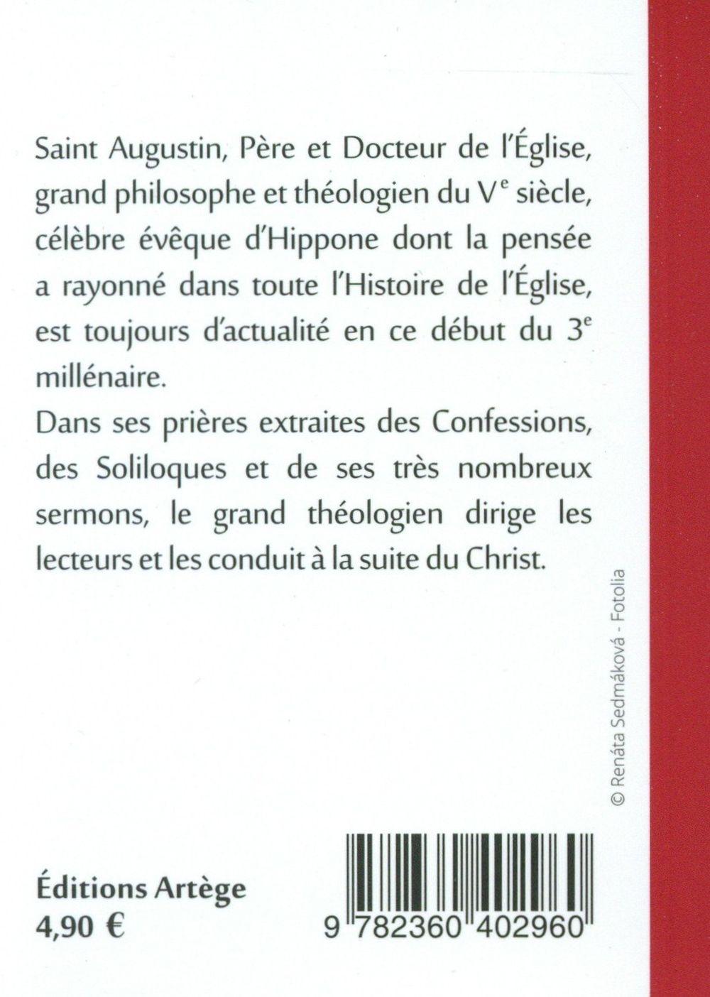 Prières en poche ; Saint Augustin