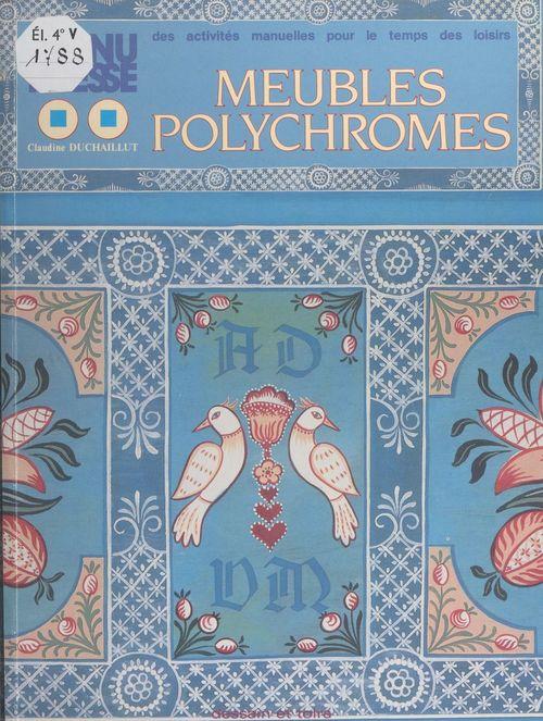 Meubles polychromes