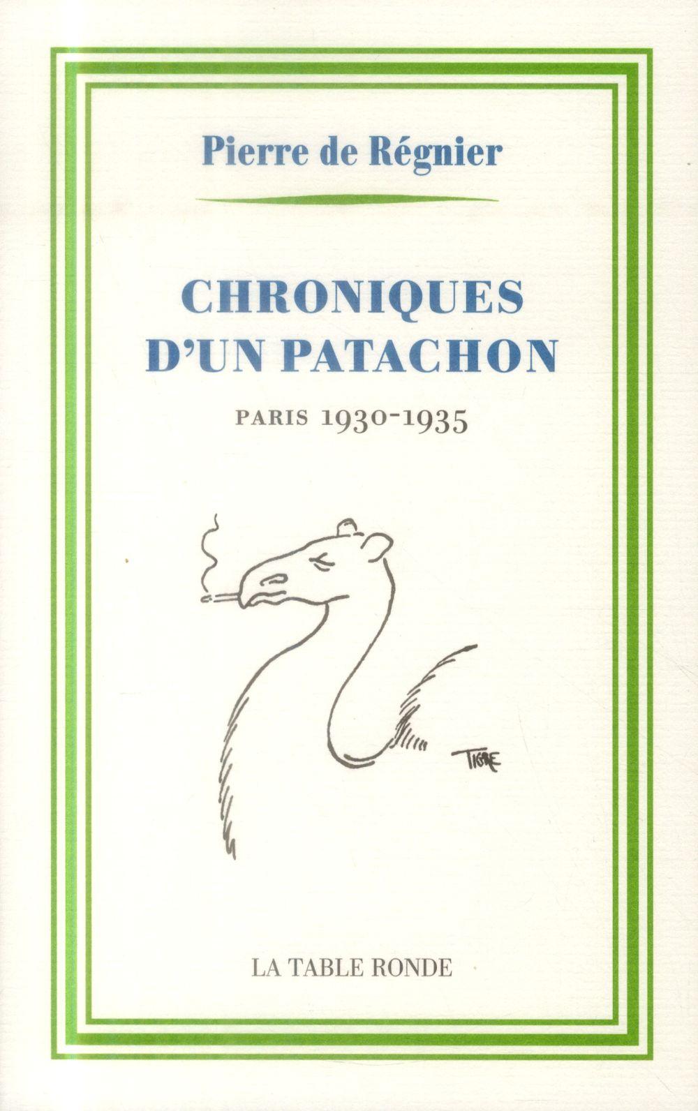 Chroniques d'un patachon 1930-1935